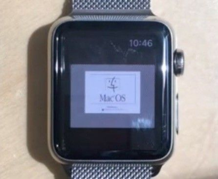 Apple Watch vrti Mac OS 7.5.5 iz 1996. godine